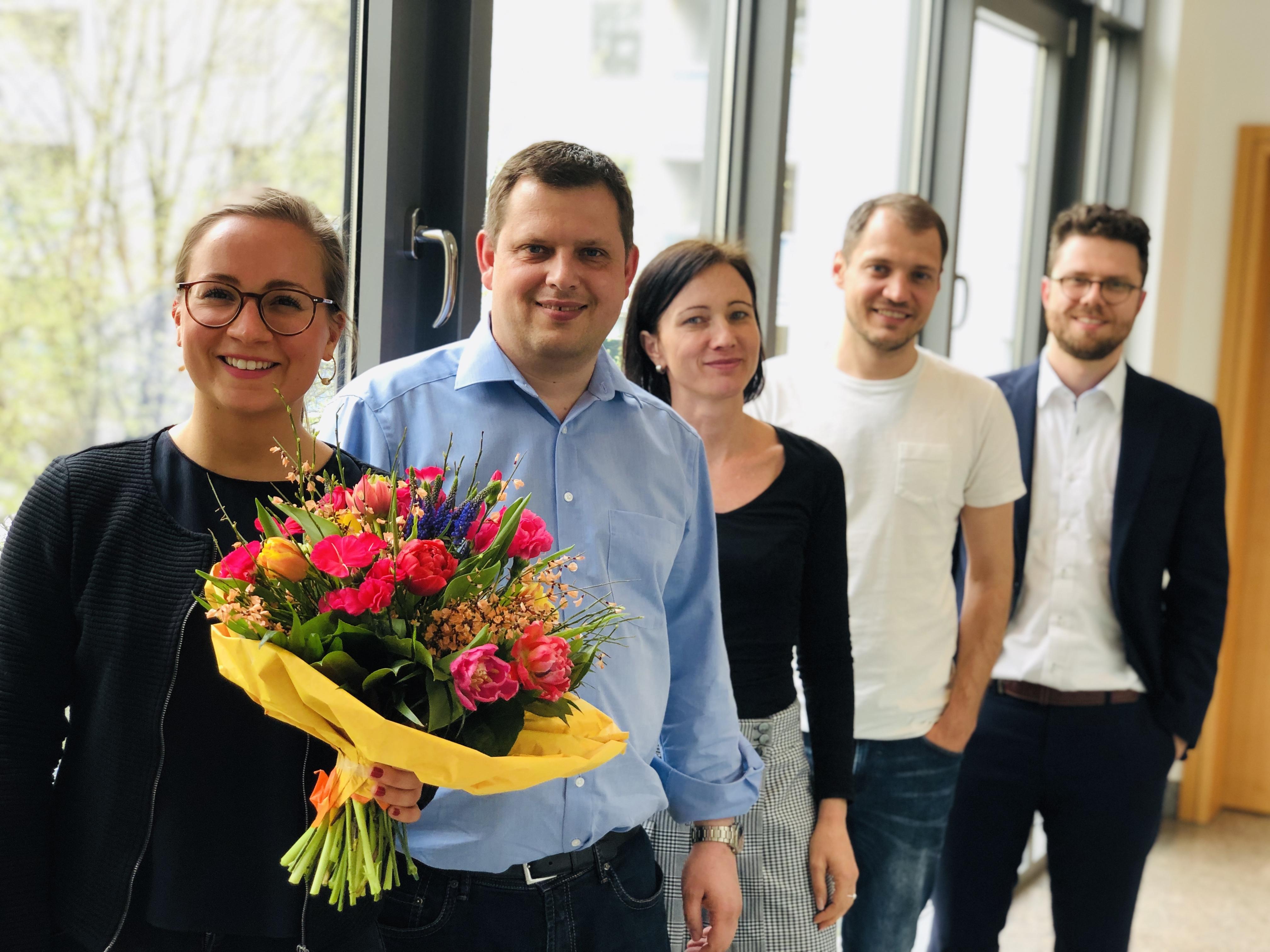 Das Gründungsteam des Deutschen Instituts für Change-Prozesse und digitale Geschäftsmodelle.